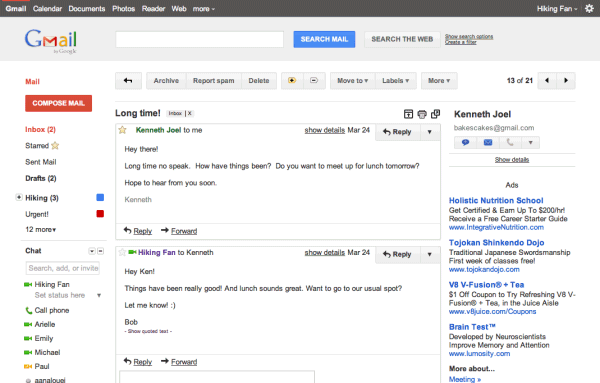 Google Gmail for PC