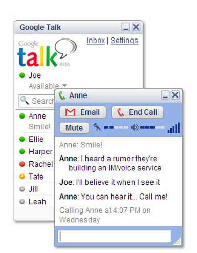 Google Talk for PC