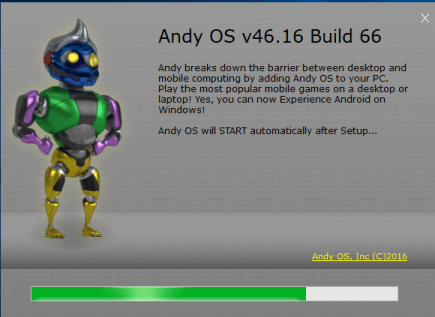 Andyroid for PC