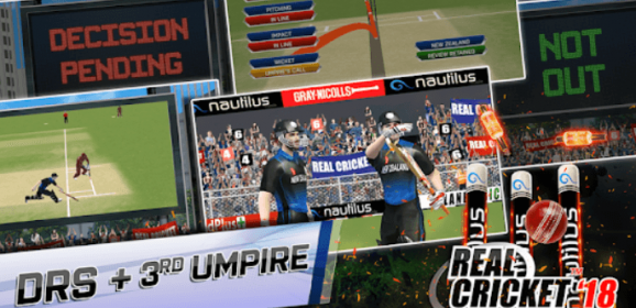 Real Cricket 18 for PC Windows XP/7/8/8.1/10 and Mac Free Download
