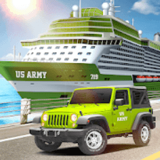 US Army Car Transport Cruise Ship Simulator Games for PC