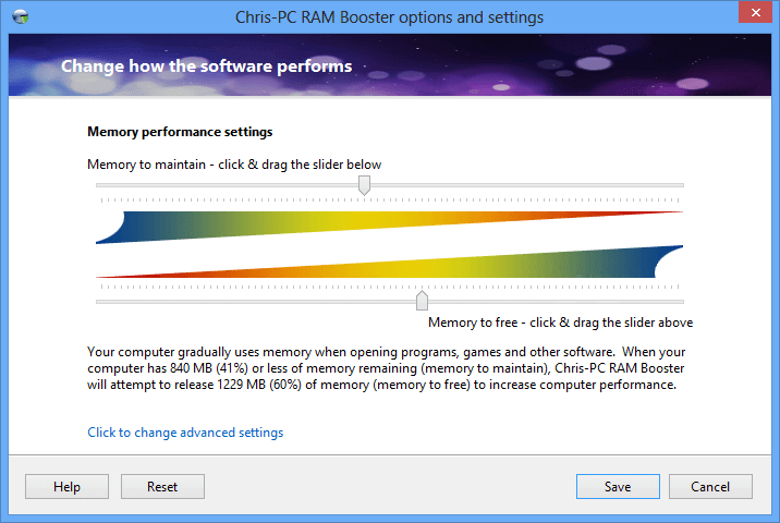 RAM Booster for PC