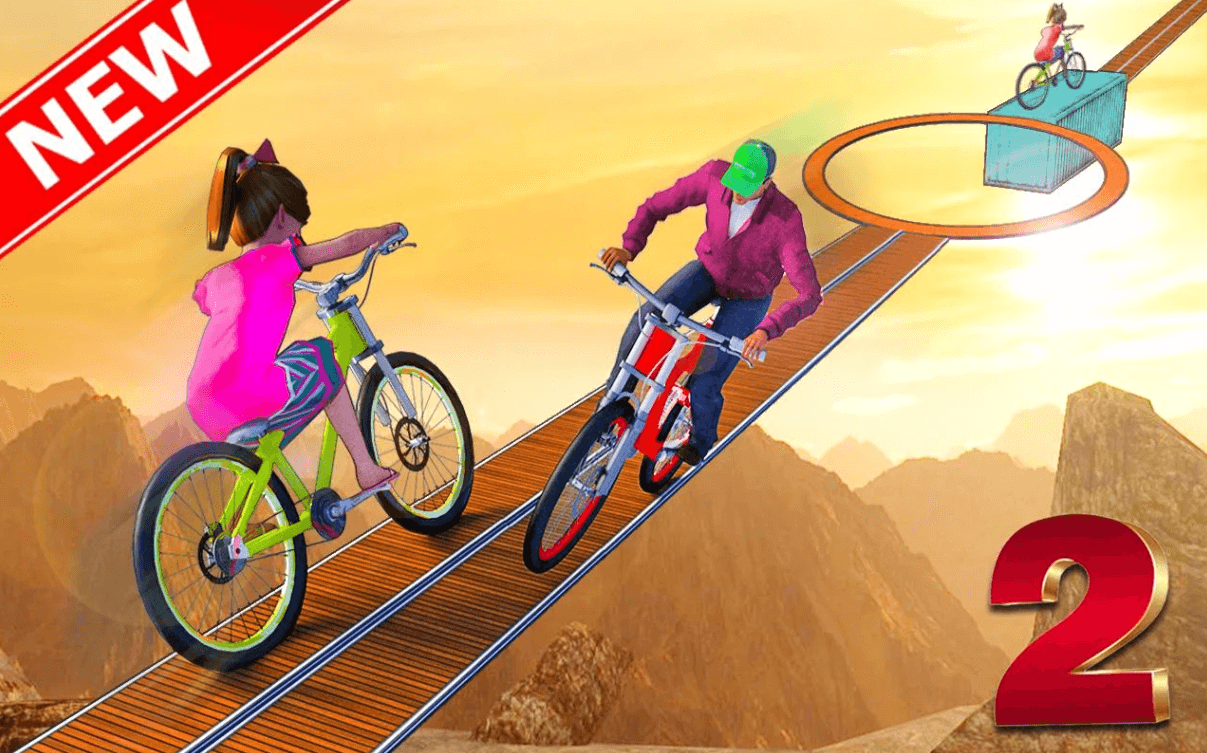 Stunt Bicycle for PC