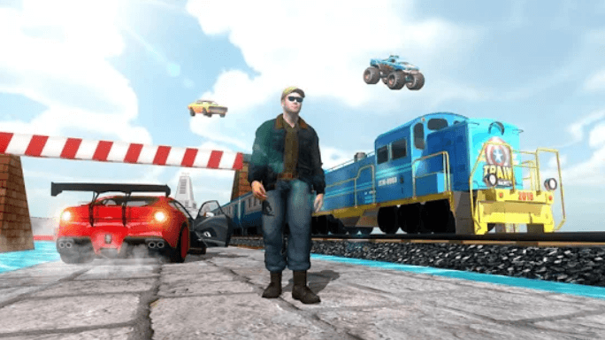 Train vs Car Racing 2 Player for PC