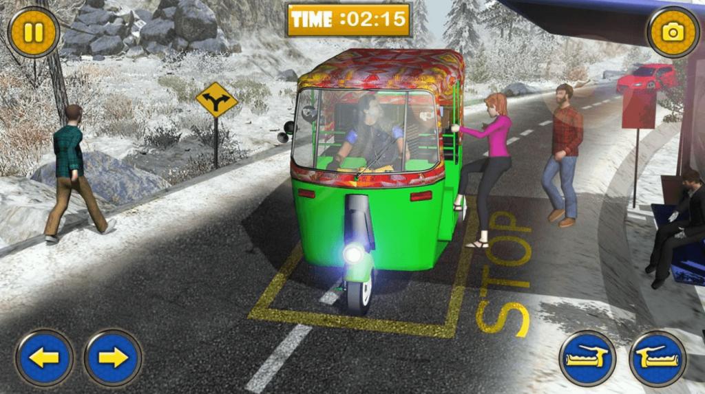Uphill Auto Tuk Tuk Rickshaw for PC
