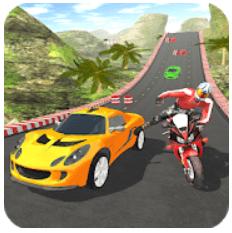 Car vs Bike Racing for PC Windows XP/7/8/8.1/10 and Mac Free Download