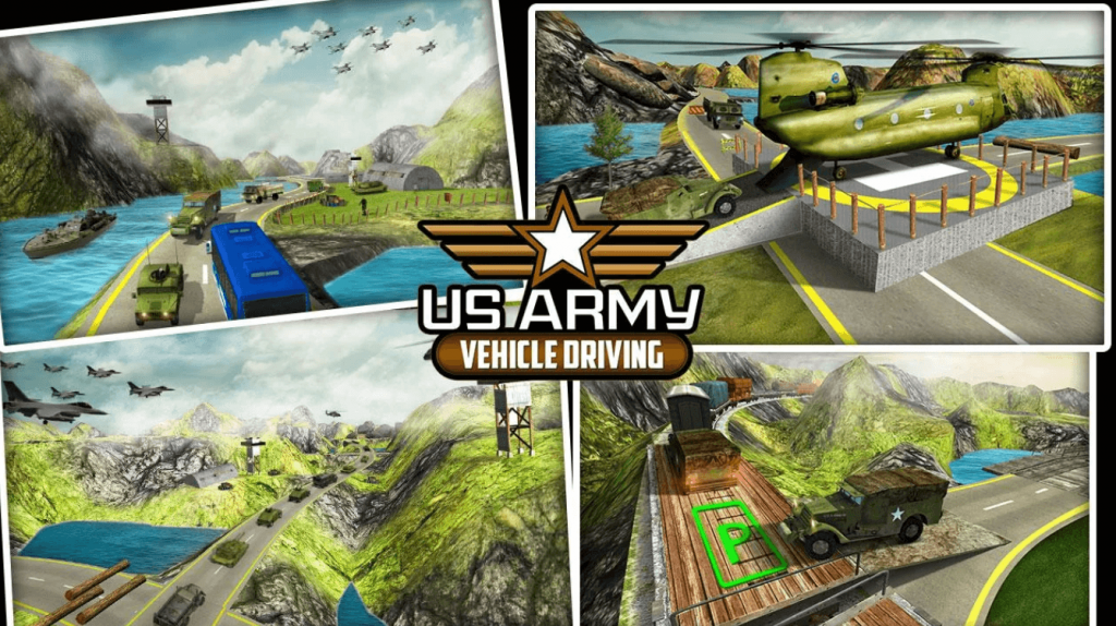 Offroad US Army Vehicle Driving for PC