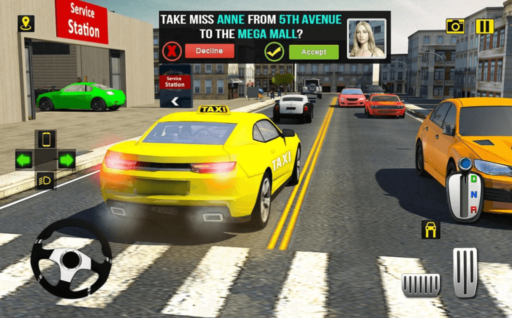 Rush Hour Taxi Cab Driver for PC