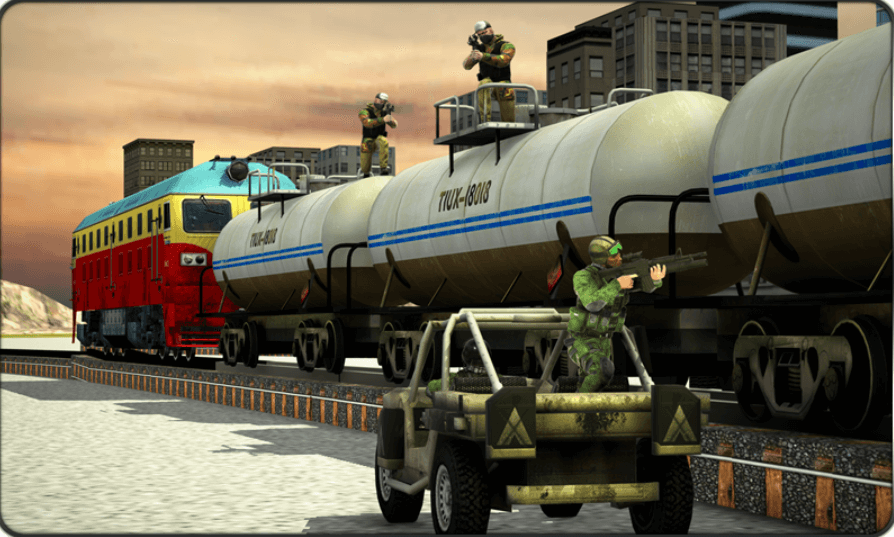 US Train Hijack Rescue Ops for PC