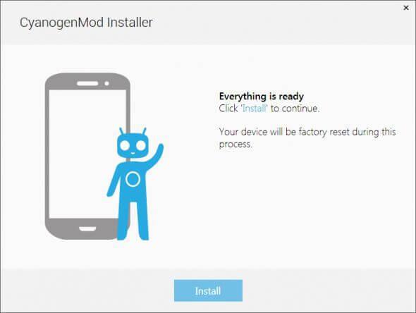 CyanogenMod Installer for PC