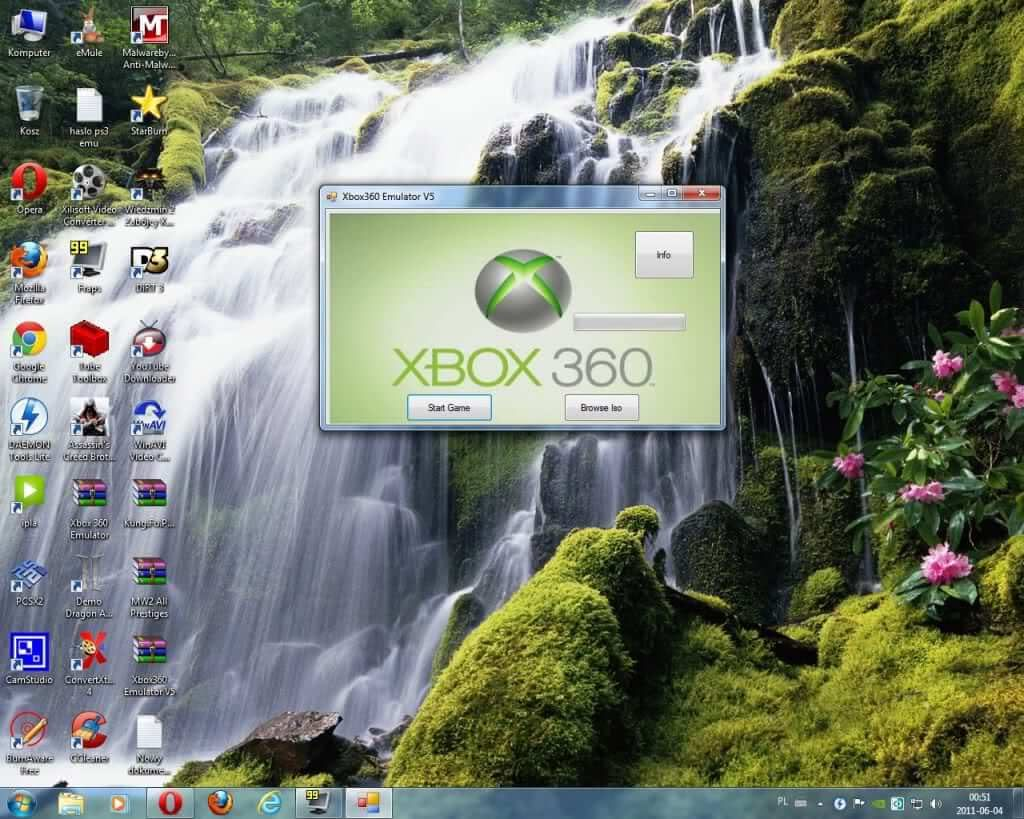 Emulator Xbox 360 for PC