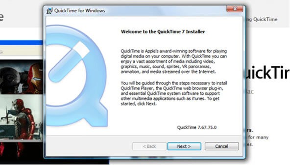 Quicktime for PC