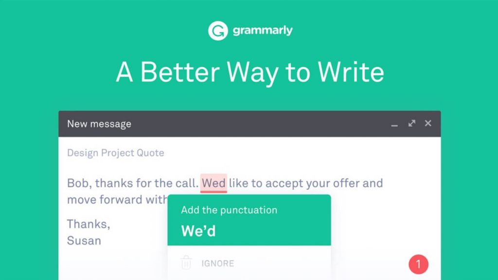 Grammarly for PC