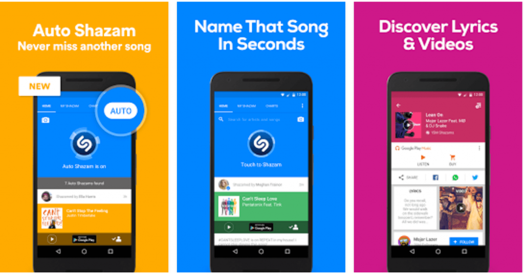 Shazam Apk for Android Free Download - I Must Have Apps
